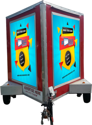 Advertise here with mobile stands